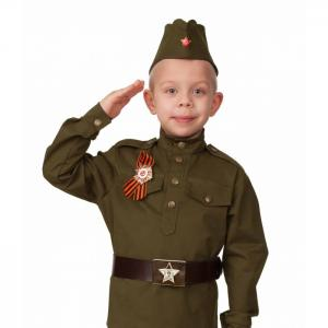 Карнавальный костюм Солдат малютка (хлопок) Jeanees