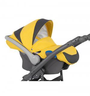 Автокресло  Logan, цвет: желтый меланж/темно-серый Camarelo