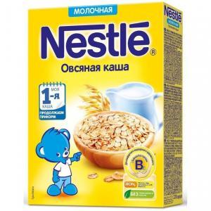 Каша  молочная Овсяная Моя 1-ая Каша.Продолжаем прикорм с 5 месяцев 220 г Nestle