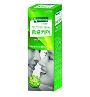 Зубная паста  Systema освежающая с ароматом жасмина и мяты, от 12 лет, 120 гр CJ Lion