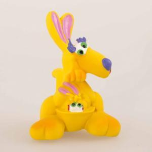 Латексная игрушка Кенгуру-мама 1448 Lanco