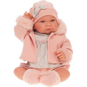 Кукла  Наталия в розовом, 40 см Munecas Antonio Juan. Цвет: розовый