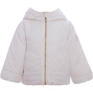Куртка  для девочки Wojcik. Цвет: бежевый