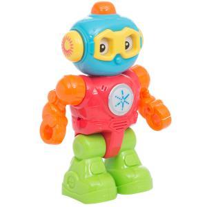 Игрушка развивающая  Друг-робот (голубой/красный/салатовый) 13 х 5 23 см Zhorya