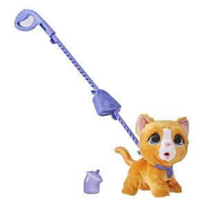 Мягкая игрушка  Озорной питомец (большой) Сat цвет: рыжый FurReal Friends
