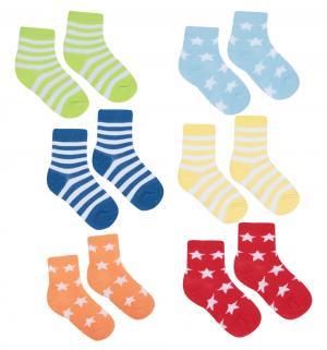 Носки, цвет: голубой Luvable Friends