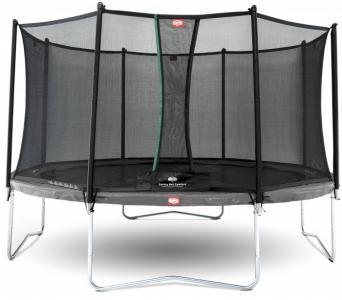 Батут Favorit 430 с сеткой Safety Net Comfort Berg