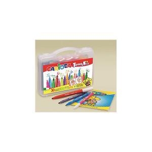 Набор для рисования  Travel Kit Fantasy, 31 предмет Carioca. Цвет: белый