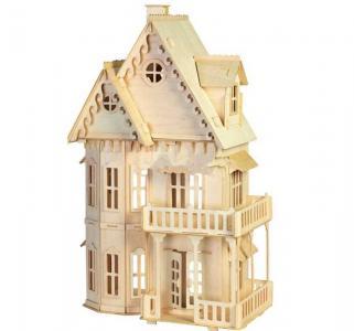 Сборная деревянная модель  Большой сказочный дом Wooden Toys