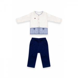 Костюм 2-ка для мальчика (кофта с длинным рукавом и брюки) МЛ473432 RBC