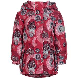 Демисезонная куртка JICCO BY OLDOS Ирма. Цвет: розовый