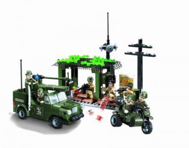 Конструктор  Вооружённые силы 809 (285 элементов) Enlighten Brick
