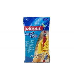 Перчатки  с нескользящим покрытием Super Grip, S Vileda