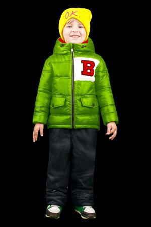 Комплект куртка/брюки , цвет: зеленый/черный Boom By Orby
