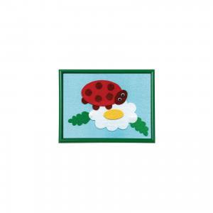 Стигис-аппликация для малышей Божья коровка STIGIS