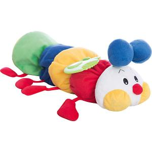 Развивающая мягкая игрушка Гусеничка с прорезывателем, Ks Kids K's