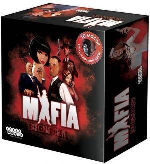 Настольная игра  Мафия Вся семья в сборе Hobby World