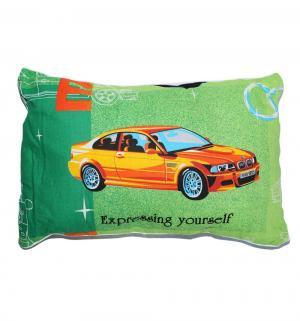 Подушка Спорт 50 х 70 см, цвет: зеленый Cleo