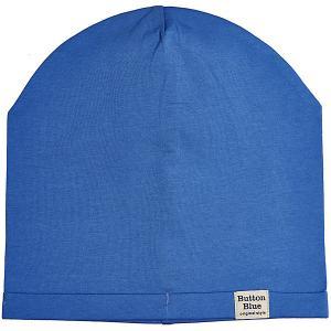 Шапка  для мальчика Button Blue. Цвет: синий