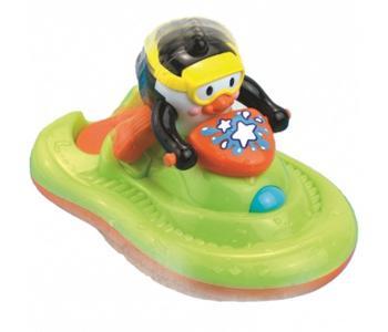 Игрушка для купания Пингвиненок на катере Hap-p-Kid