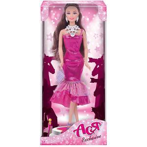 Кукла  Эксклюзив Ася, 28 см Toys Lab. Цвет: розовый