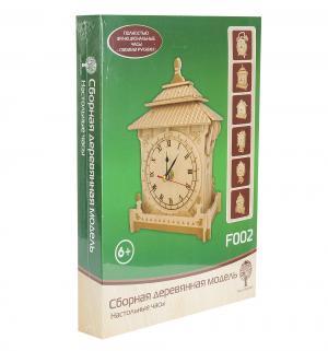Сборная деревянная модель  Настольные часы Wooden Toys