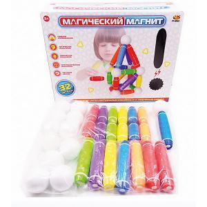 Конструктор  Магический магнит, 32 детали ABtoys. Цвет: разноцветный