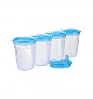 Набор  Контейнеры для хранения молока + ложки Babyono