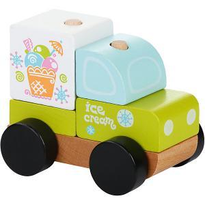 Машинка-констркутор Cubika Экспресс-мороженное LM-8, 5 деталей Attipas