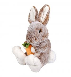 Мягкая игрушка  Зайка, цвет: серый 20 см Fluffy Family