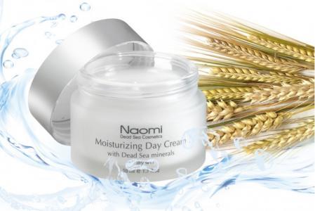 Крем дневной увлажняющий для лица нормальной и жирной кожи 50 мл Naomi