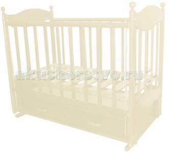 Детская кроватка  Эля продольный маятник Ведрусс