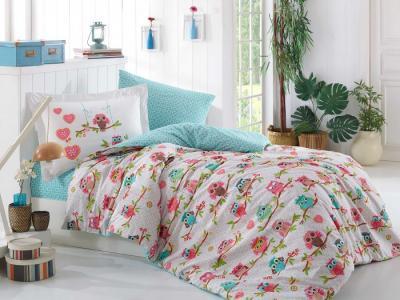 Постельное белье  Candy 1.5-спальное Евро (4 предмета) Hobby Home Collection