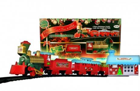Железная дорога Christmas Train 53 части Eztec