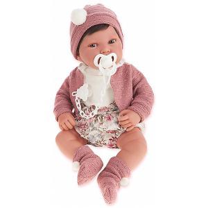 Кукла-пупс  Сэнди в розовом, 40 см Munecas Antonio Juan. Цвет: розовый