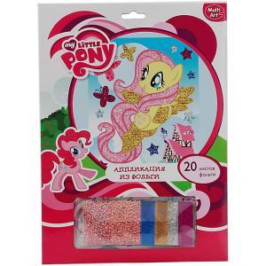 Аппликация из фольги MultiArt My Little Pony. Цвет: разноцветный