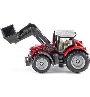 Масштабная модель  Трактор Massey Ferguson с фронтальным погрузчиком Siku