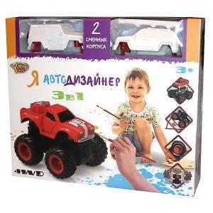 Набор для творчества 3 в 1  Toys Я автодизайнер, M6540-2 Yako