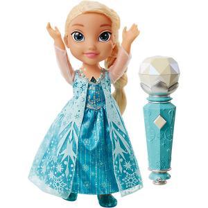 Интерактивная кукла  Холодное сердце Эльза с микрофоном, 35 см Jakks Pacific