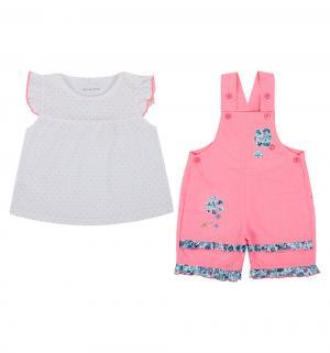 Комплект футболка/полукомбинезон , цвет: мультиколор Bony Kids