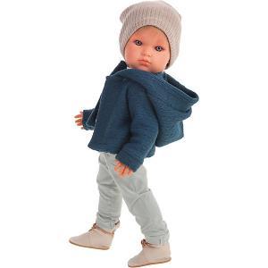 Кукла  Джастин, 45 см Munecas Antonio Juan. Цвет: синий