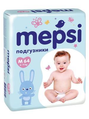 Подгузники  Premium M (6-11 кг) 64 шт. Mepsi