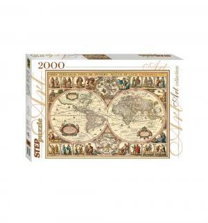 Пазл  Art Collection Историческая карта мира Step Puzzle