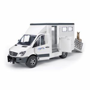 Фургон с лошадью Mercedes-Benz Sprinter Bruder