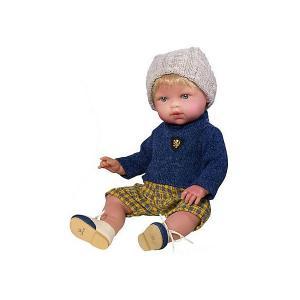 Кукла-пупс  Тонино - городской модник в шапочке, 42 см Vestida de Azul. Цвет: разноцветный