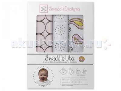 Пеленка  SwaddleLite Modern комплект 3 шт. SwaddleDesigns