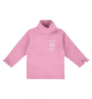 Водолазка , цвет: розовый Мелонс