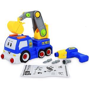 Игровой набор-конструктор  Автоэкскаватор Bebelot. Цвет: разноцветный