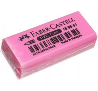 Ластик  флоуресцентный розовый Faber-Castell