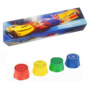 Пальчиковые краски Centrum Hot Wheels, 4 цвета
